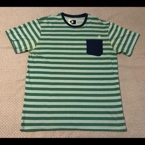 Volcom Surf Skate Striped Pocket T-Shirt